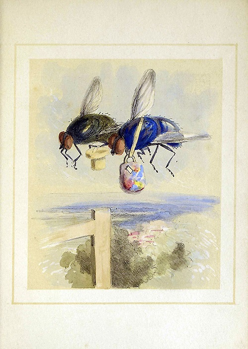 The Two Flies (picture) 1847