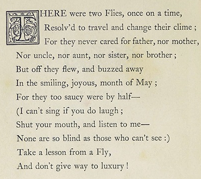 The Two Flies (verse)1847