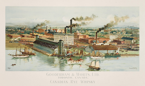 Gooderham & Worts  Limited  Toronto  1896