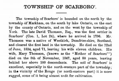 Scarborough description 1871