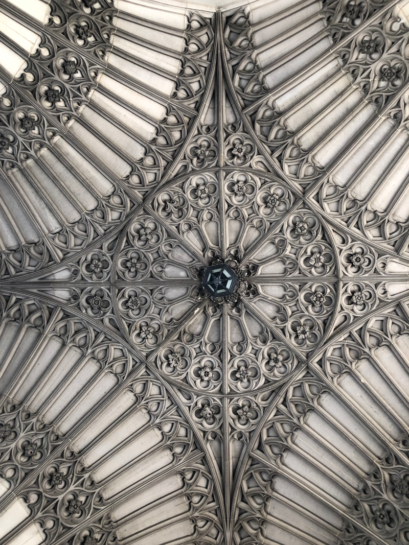 University College  Soldier' Tower ceiling