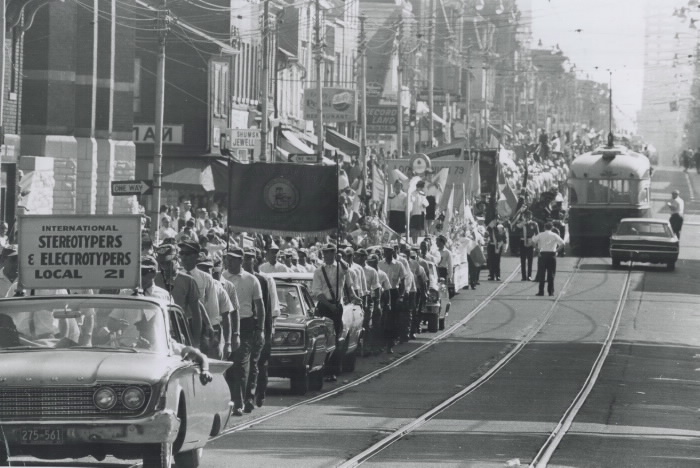 1967 Labour Day Parade International Stereotypers and Electrotypers