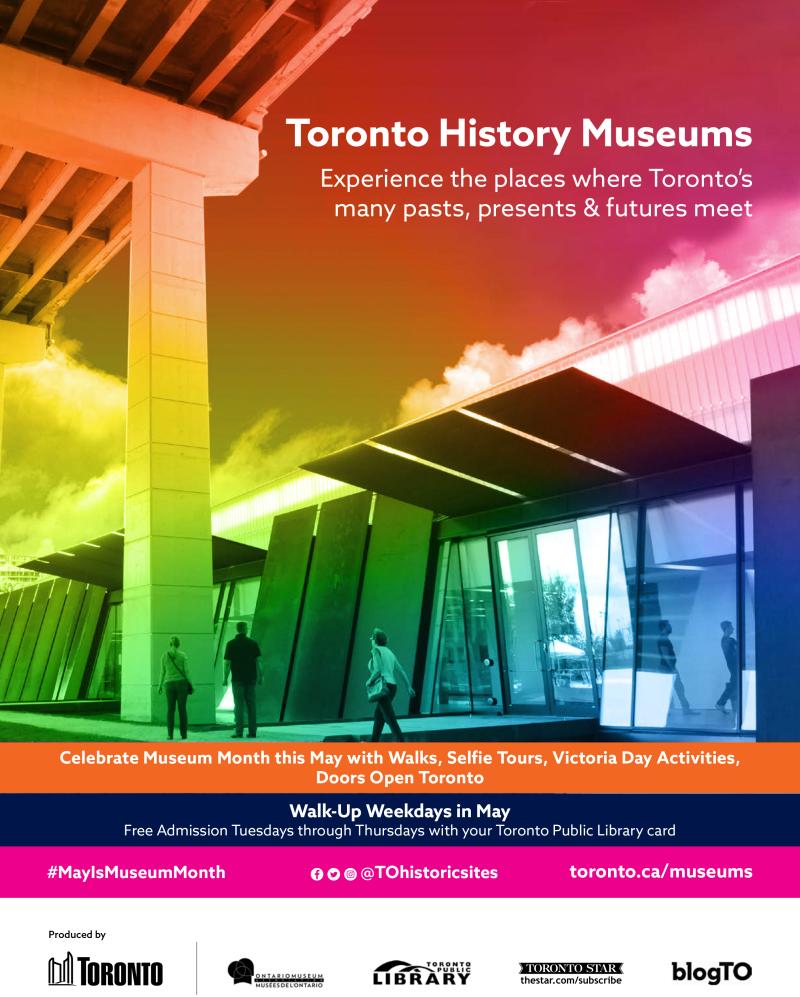 Toronto History Museums poster