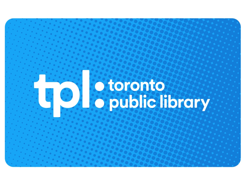 Toronto Public Library adult library card