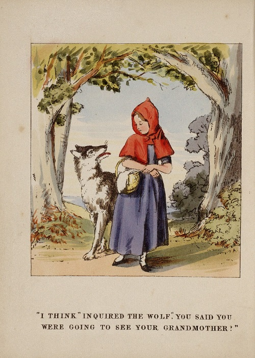 Little Red Riding Hood 1843