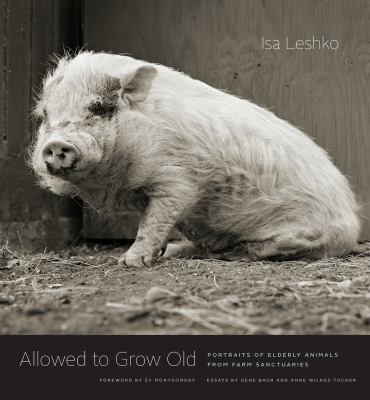 Allowed to Grow Old Portraits of Elderly Animals from Farm Sanctuaries.