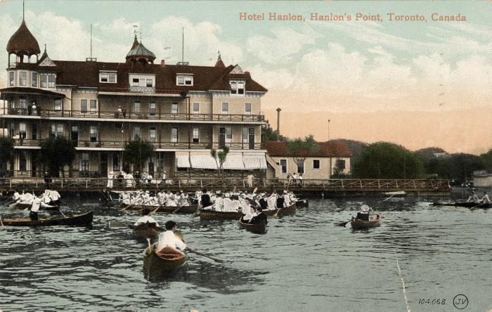 Hotel Hanlon postcard, 1910