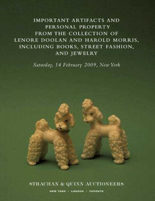 Important artifacts and personal property from the collection of Lenore Doolan and Harold Morris  including books  street fashion  and jewelry