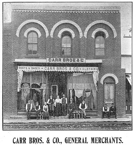 Carr bros and co general merchants