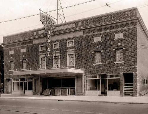 Danforth Music Hall 1919