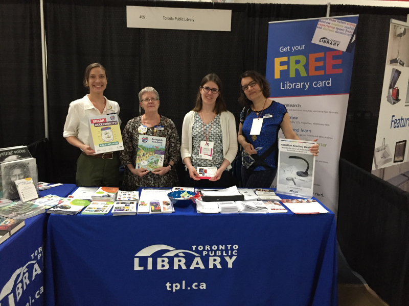 TPL staff members at Access Expo