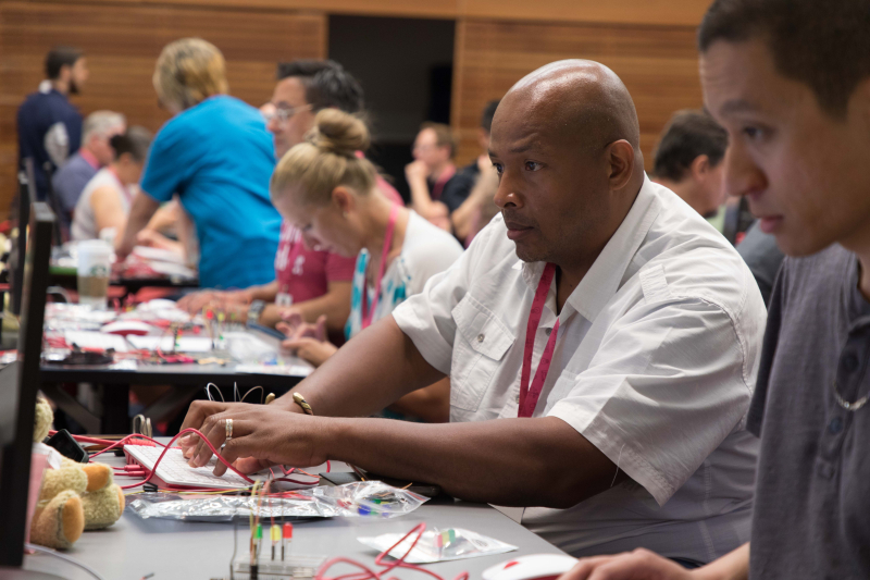 Participant at Picademy