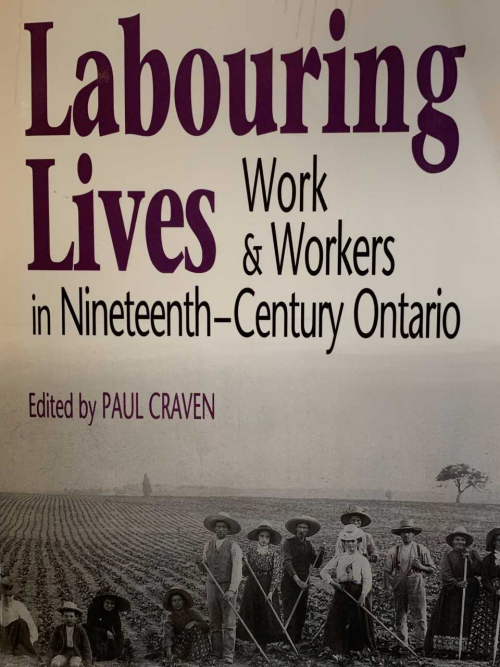 Labouring lives  work and workers in nineteenth-century Ontario