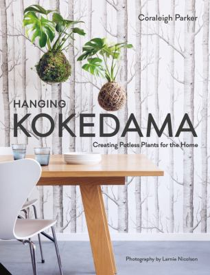 Hanging kokedama  creating potless plants for the home