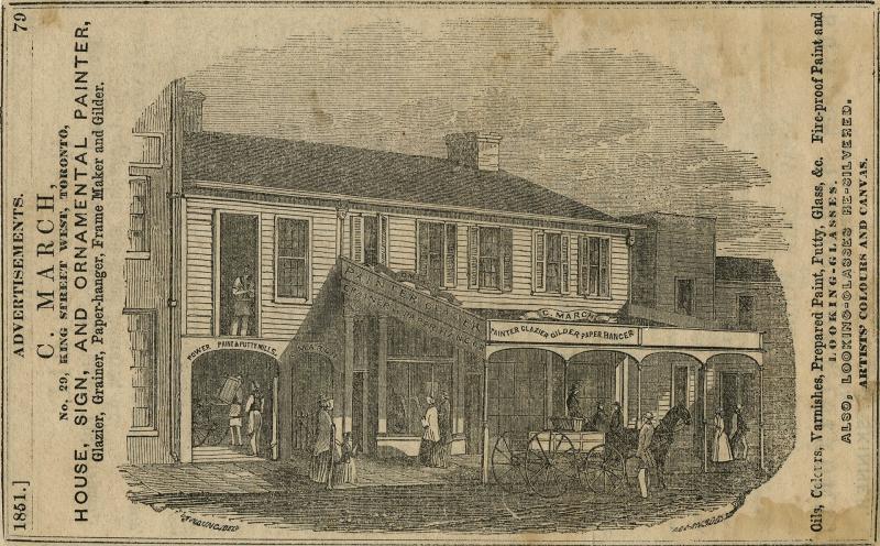 29 King Street West  Toronto in 1851