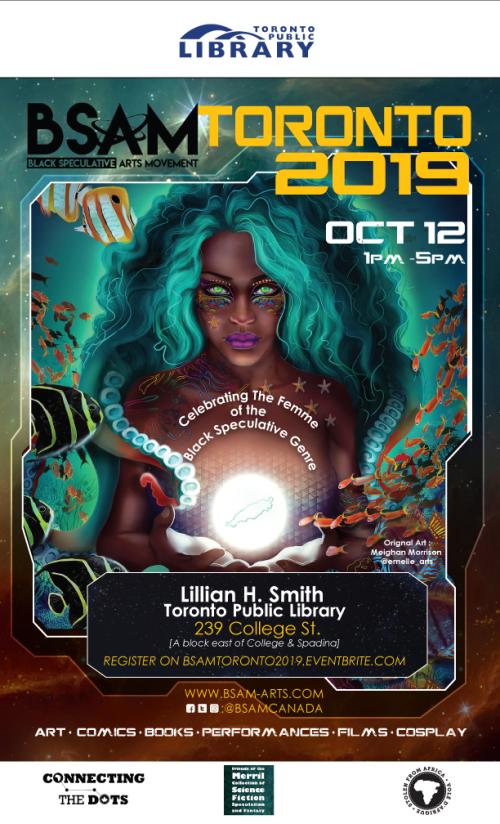 BSAM Toronto 2019 poster