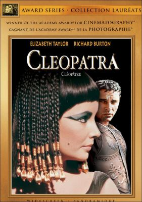 DVD of Cleopatra with Elizabeth Taylor and Richard Burton
