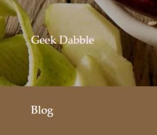 Suneil's geek dabble blog