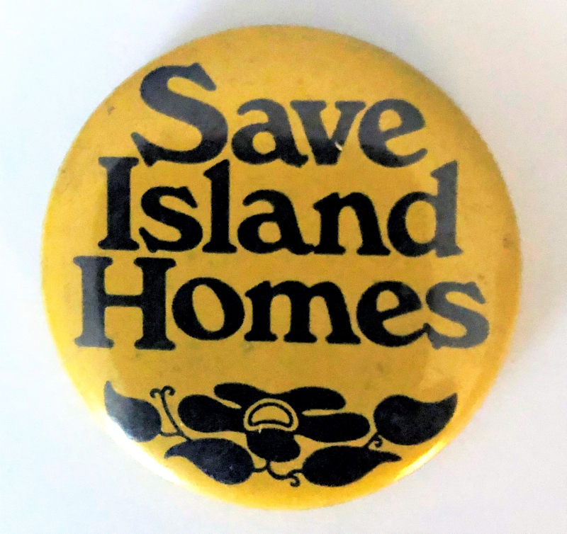 Circa 1970s pin belonging to Michael Kainer