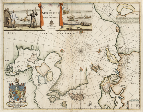 A map of the North-Pole and the parts adjoining  1680 (2)