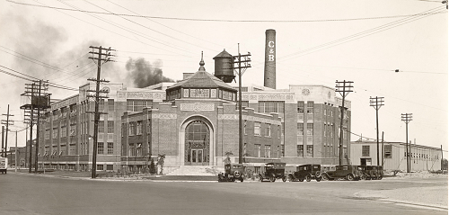 Crosse & Blackwell Factory  Lakeshore Boulevard West  south east corner of Bathurst Street  1926