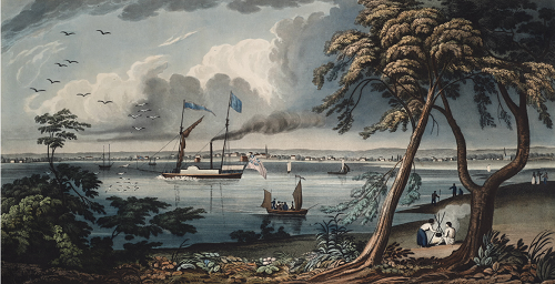 York from Gibralter Point (Toronto)  1828