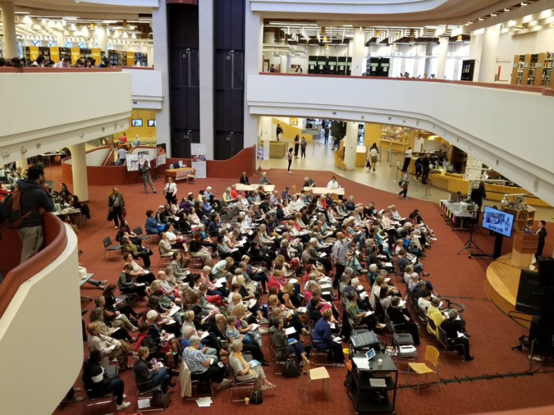 Audience at Celebrating Book Clubs