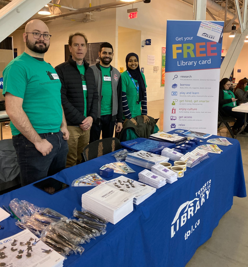 TPL Staff at Homeless Connect Fair