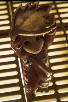 Baby Groot from Guardians of the Galaxy Vol. 2. Property of Marvel.