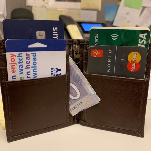 Bill's wayward wallet