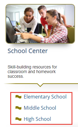 School Center Levels