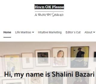 Shalini's lifestyle blog