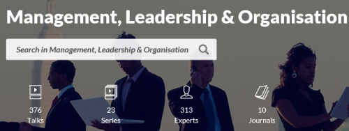 Search Results for Management, Leadership & Organization