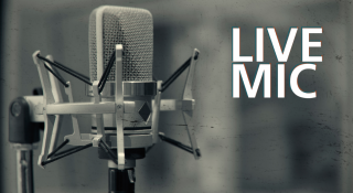 Live Mic logo