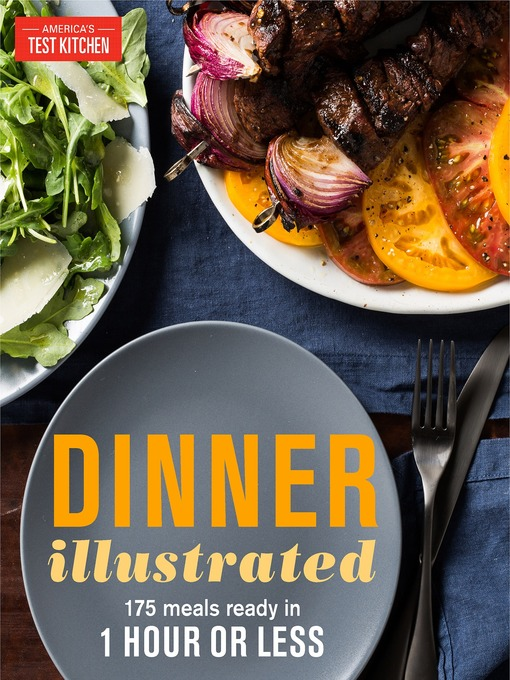 TPL Dinner Illustrated 175 Meals Ready in 1 Hour Or Less