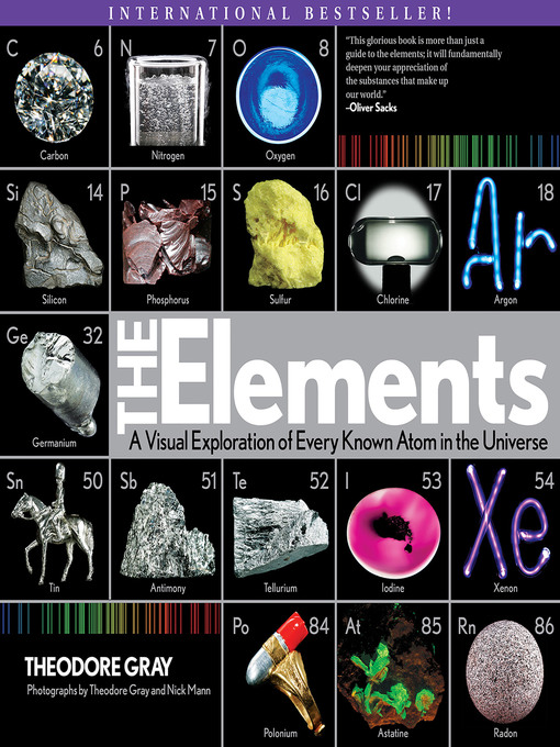 The Elements A Visual Exploration by Theodore Gray