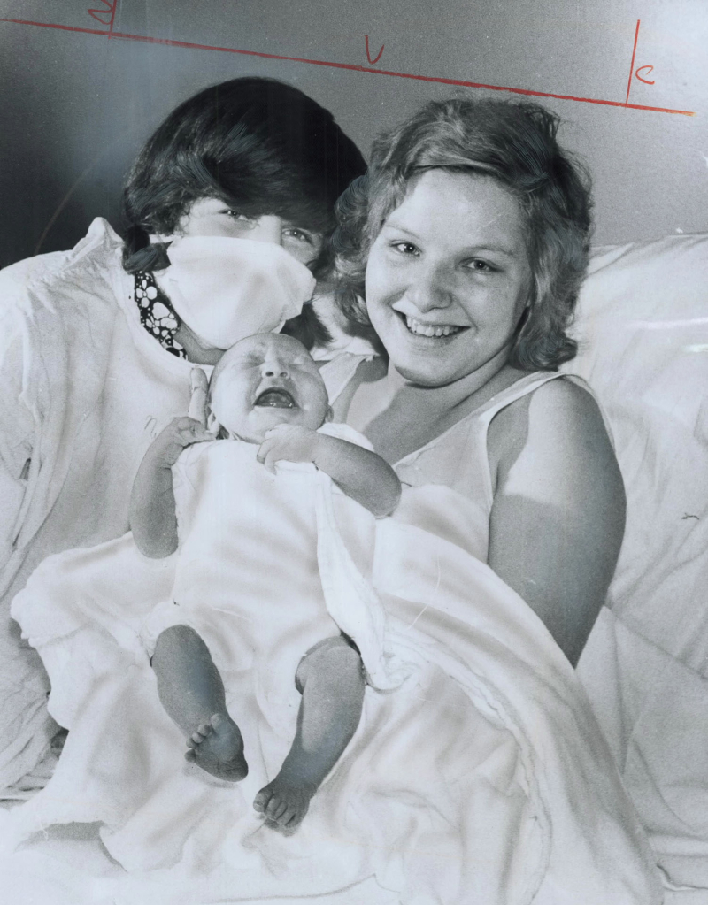 Leap-year baby Lanalee Jane Wells; whose parents are David and Donna  1976
