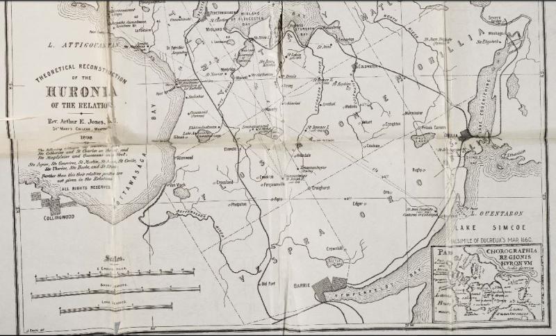Map of huronia v34