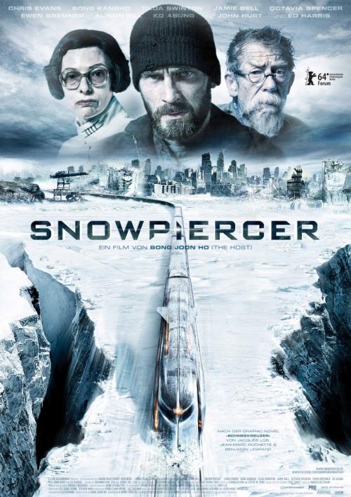 Snowpeircer movie cover