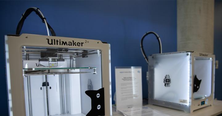 Ultimaker 3D printers.