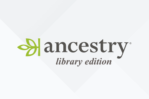 Logo of ancestry library edition