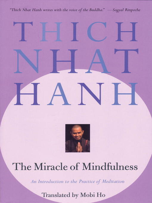 TPL The Miracle Of Mindfulness - A Manual On Meditation