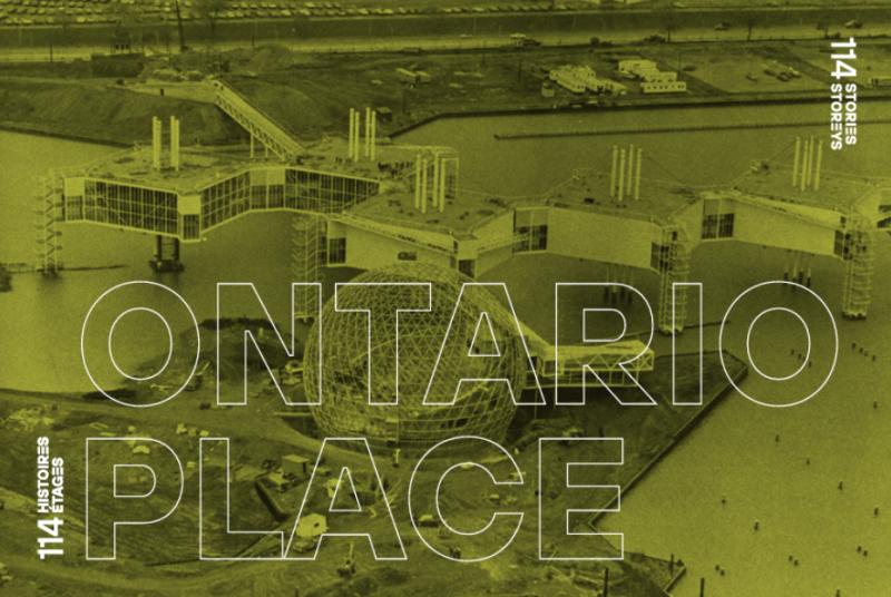Vue aérienne de la Place de l'Ontario