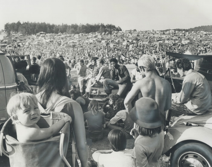 Mosport Rock Festival 1970 Toronto Star Photographic Archives