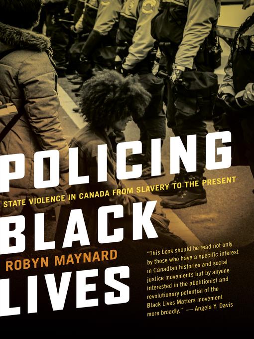 Policingblack Lives book cover