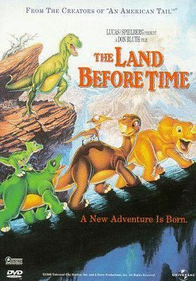 The land before time movie cover