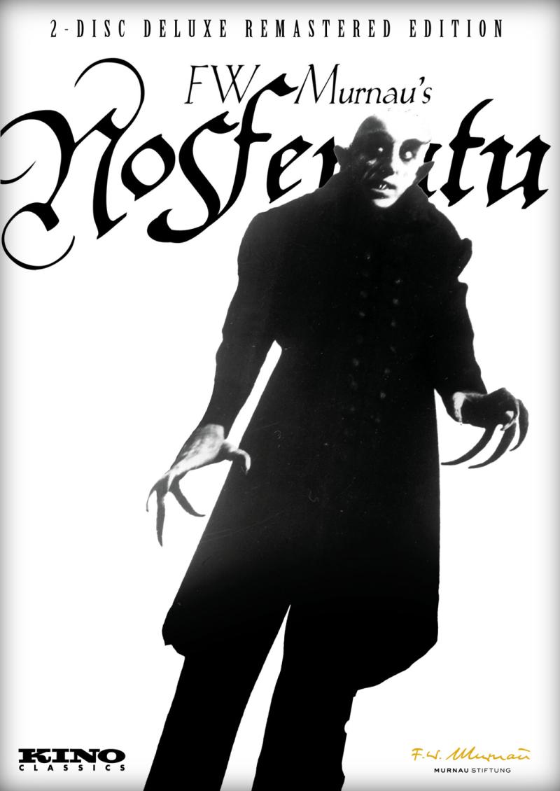 F.W. Murnau's Nosferatu DVD cover