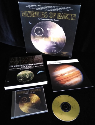 Contents of the boxed set feature planetary images. .