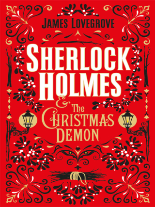 Decorative book cover of Sherlock Holmes and the Christmas Demon