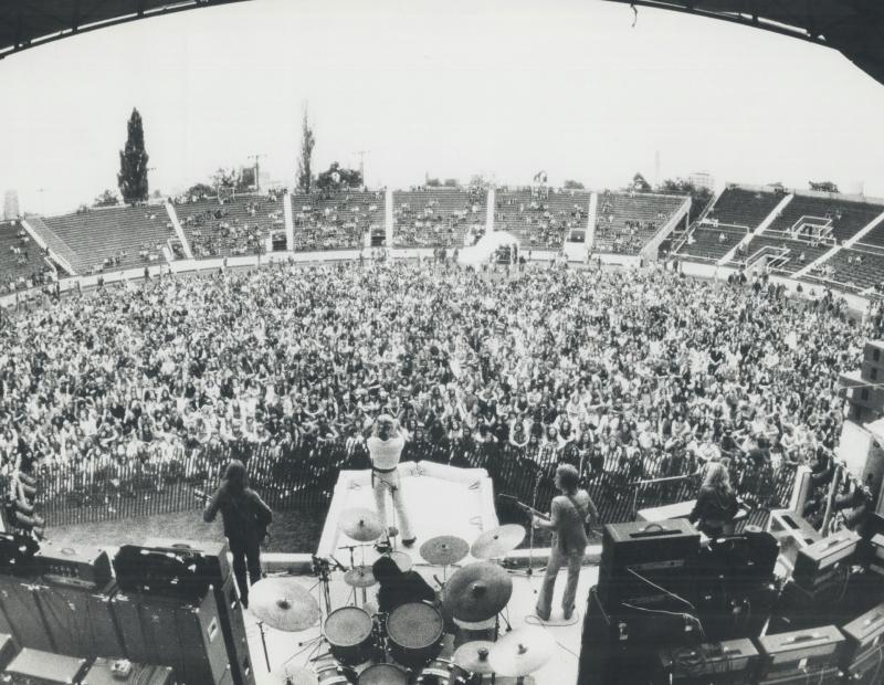 Varsity Stadium Rock Concert 1973